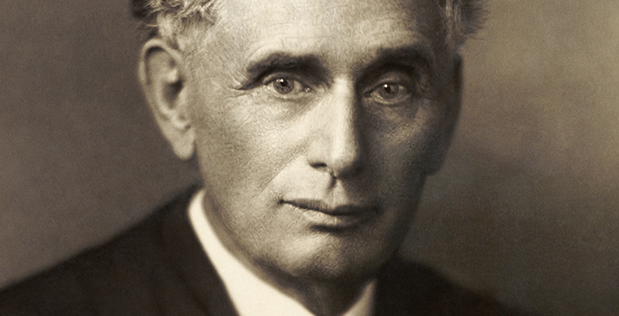 Louis Dembitz Brandeis, Associate Justice on the U.S. Supreme Court from 1916 to 1939.
