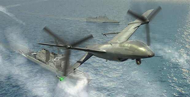 Tern, a joint program between DARPA and the U.S. Navy's Office of Naval Research (ONR), seeks to enable forward-deployed small ships to serve as mobile launch and recovery sites for medium-altitude, long-endurance unmanned aerial systems (UAS). In an important step toward that goal, DARPA has awarded prime contracts for Phase 2 of Tern to two companies: AeroVironment, Inc. and Northrop Grumman Corp.