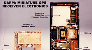 DARPA microelectronics gave rise to today's GPS devices.