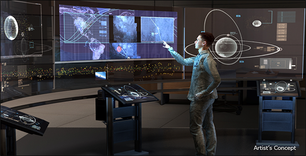 Image Caption: DARPA's Hallmark program seeks to develop revolutionary tools and technologies to plan, assess, and execute U.S. military operations in space. In its pursuit of these breakthrough capabilities, the program has completed initial research demonstrations and awarded Phase 1 contracts to 11 organizations. Hallmark has also released a Broad Agency Announcement seeking additional technologies for potential inclusion. Click below for high-resolution image.
