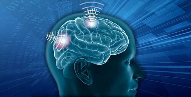 Image caption: DARPA's Next-Generation Nonsurgical Neurotechnology program aims to develop a high-resolution, portable neural interface system capable of reading from and writing to multiple points in the brain at once. Such a noninvasive system would extend the power of advanced neurotechnology to able-bodied individuals and could support future Department of Defense efforts to improve human-machine teaming.