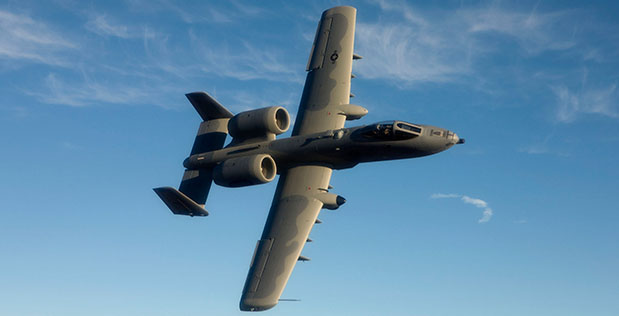 DARPA recently demonstrated its Persistent Close Air Support (PCAS) prototype system on an A-10 Thunderbolt II attack aircraft, marking the system's debut on a U.S. Air Force platform.