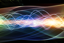 Conceptual depiction of the intersection of radio communication and artificial intelligence. Click on image below for high-resolution.