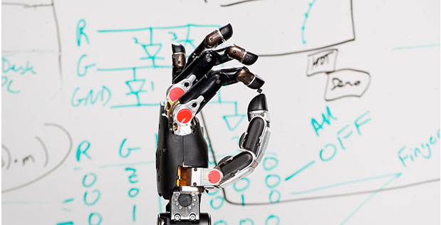 Modular Prosthetic Limb courtesy of the Johns Hopkins University Applied Physics Laboratory