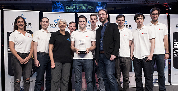 DARPA Celebrates Cyber Grand Challenge Winners