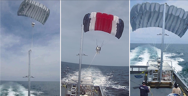 DARPA's TALONS research effort recently completed at-sea tests.