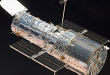Parts for the Hubble Space Telescope
