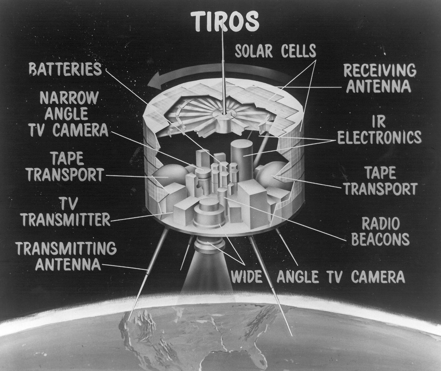 First weather satellite television and infrared observations images first weather satellite freerunsca Images