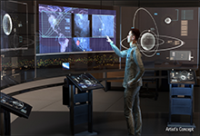Image Caption: DARPA's new Hallmark program seeks to provide improved capabilities to rapidly plan, assess, and execute the full spectrum of U.S. military operations in space. Click below for high-resolution image.