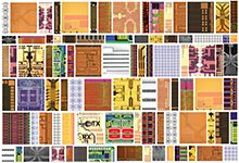 Image Caption: The patchwork of microelectronic dies represents work performed by a multitude of university groups that participated in previous DARPA-industry-academe collaborations. DARPA's new electronics initiative is pushing for a new era of microsystem structures and capabilities. Click on the image for a high-resolution version.