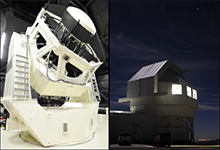 Image Caption: DARPA's Space Surveillance Telescope (SST) is helping ensure the safety and operation of satellites by developing and combining many technological firsts that are redefining what telescopes can do. Click below for high-resolution image.