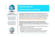 Transition & Commercialization