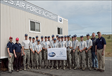 U.S. Air Force Academy team at DARPA Service Academies Swarm Challenge