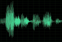 "Image Caption: Akin to a fingerprint of a person, this voiceprint—and its trace of frequencies and amplitudes—maps onto a specific utterance, in this case onto the phrase, ""Voices from DARPA,"" which also is the title of  DARPA's new podcast series featuring the Agency's program managers."
