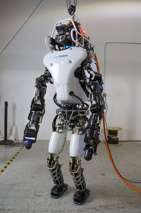 Debut of Upgraded Atlas Robot