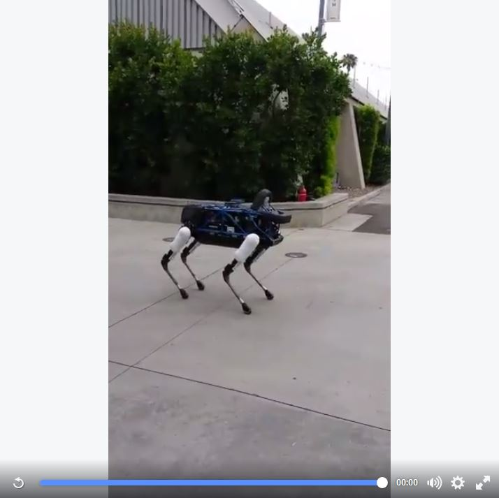 Spot Demonstration at DARPA Robotics Challenge